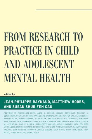 Cover image for the book From Research to Practice in Child and Adolescent Mental Health