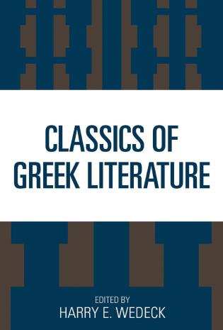 Cover image for the book Classics of Greek Literature