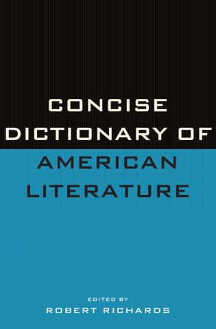 Cover image for the book Concise Dictionary of American Literature