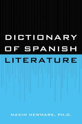 Cover image for the book Dictionary of Spanish Literature