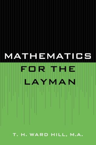 Cover image for the book Mathematics for the Layman