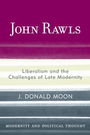 Cover image for the book John Rawls: Liberalism and the Challenges of Late Modernity