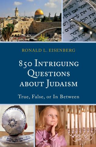 Cover image for the book 850 Intriguing Questions about Judaism: True, False, or In Between