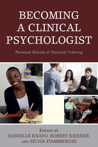 Cover image for the book Becoming a Clinical Psychologist: Personal Stories of Doctoral Training