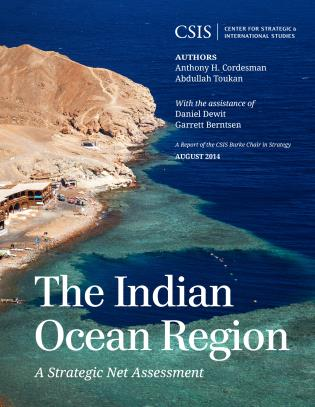Cover image for the book The Indian Ocean Region: A Strategic Net Assessment