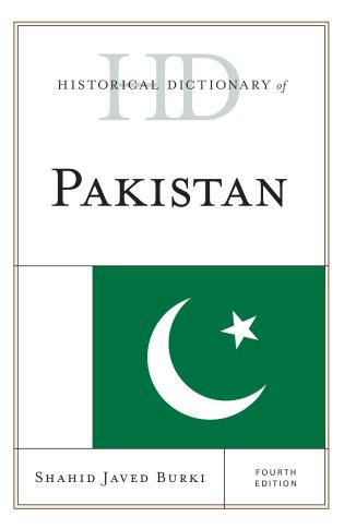 Cover image for the book Historical Dictionary of Pakistan, Fourth Edition