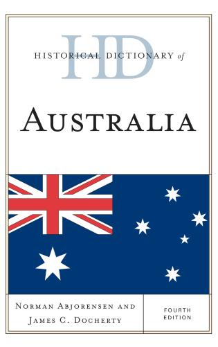 Cover image for the book Historical Dictionary of Australia, Fourth Edition