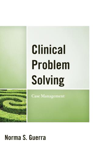 Cover image for the book Clinical Problem Solving: Case Management