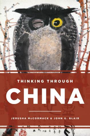 Cover image for the book Thinking through China