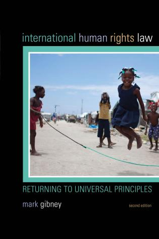 Cover image for the book International Human Rights Law: Returning to Universal Principles, Second Edition