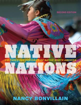 Cover image for the book Native Nations: Cultures and Histories of Native North America, Second Edition