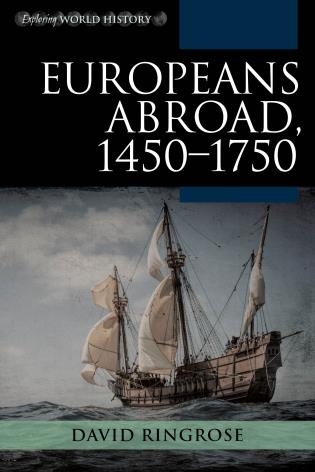 Cover image for the book Europeans Abroad, 1450–1750