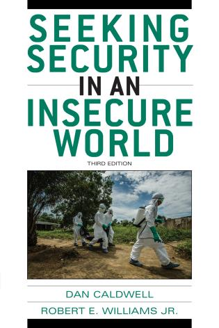 Cover image for the book Seeking Security in an Insecure World, Third Edition