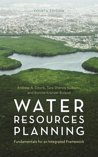 Cover image for the book Water Resources Planning: Fundamentals for an Integrated Framework, Fourth Edition