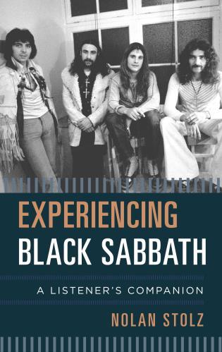Cover image for the book Experiencing Black Sabbath: A Listener's Companion