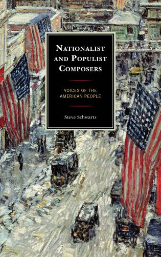 Cover image for the book Nationalist and Populist Composers: Voices of the American People