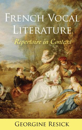 Cover image for the book French Vocal Literature: Repertoire in Context