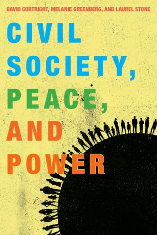 Cover image for the book Civil Society, Peace, and Power