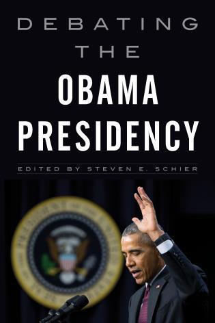 Cover image for the book Debating the Obama Presidency