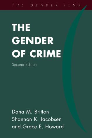 Cover image for the book The Gender of Crime, Second Edition