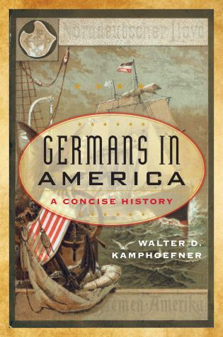 Cover Image of the book titled Germans in America
