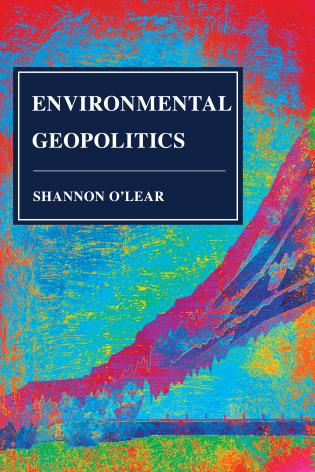 Cover image for the book Environmental Geopolitics