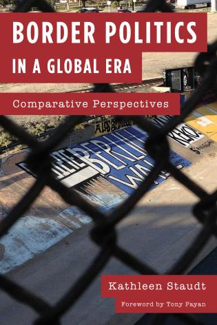 Cover image for the book Border Politics in a Global Era: Comparative Perspectives
