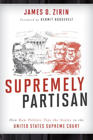 Cover image for the book Supremely Partisan: How Raw Politics Tips the Scales in the United States Supreme Court