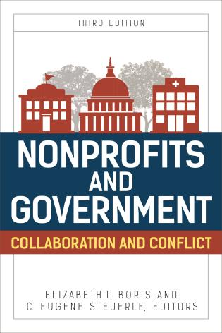 Cover image for the book Nonprofits and Government: Collaboration and Conflict, Third Edition