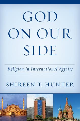 Cover image for the book God on Our Side: Religion in International Affairs