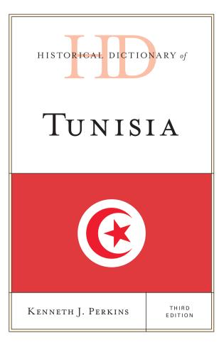 Cover image for the book Historical Dictionary of Tunisia, Third Edition