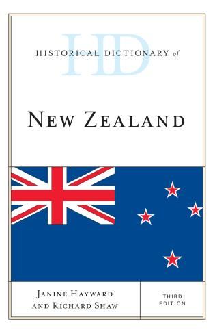 Cover image for the book Historical Dictionary of New Zealand, Third Edition