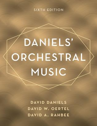 Cover Image of the book titled Daniels' Orchestral Music