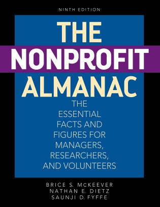 Cover image for the book The Nonprofit Almanac: The Essential Facts and Figures for Managers, Researchers, and Volunteers, Ninth Edition
