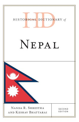 Cover image for the book Historical Dictionary of Nepal, Second Edition