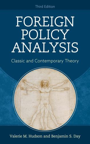 Cover image for the book Foreign Policy Analysis: Classic and Contemporary Theory, Third Edition