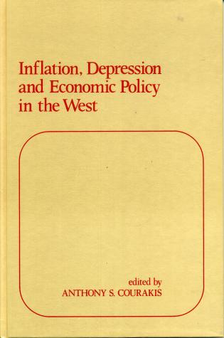 Cover image for the book Inflation, Depression and Economic Policy in the West