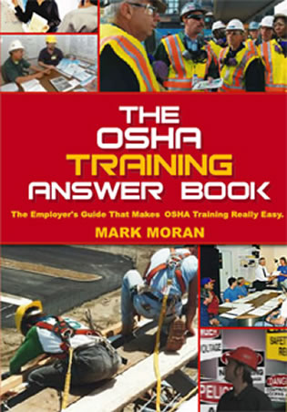 Cover image for the book The OSHA Training Answer Book