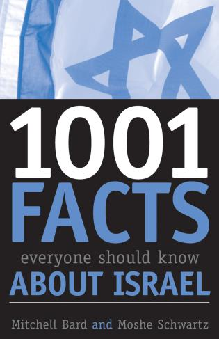 Cover image for the book 1001 Facts Everyone Should Know about Israel