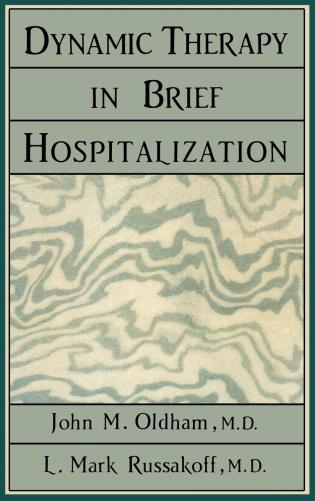 Cover image for the book Dynamic Therapy in Brief Hospi