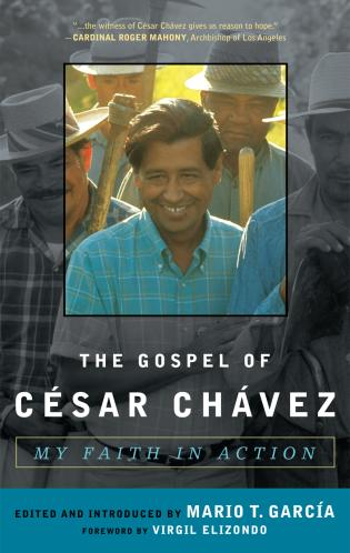 Cover image for the book The Gospel of César Chávez: My Faith in Action