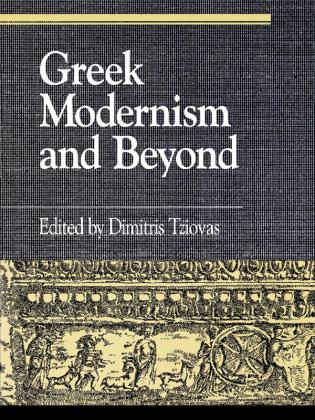 Cover image for the book Greek Modernism and Beyond