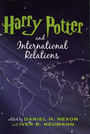 Cover image for the book Harry Potter and International Relations