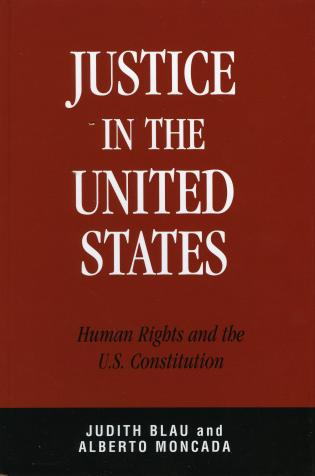 Cover image for the book Justice in the United States: Human Rights and the Constitution
