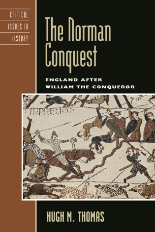 Cover image for the book The Norman Conquest: England after William the Conqueror