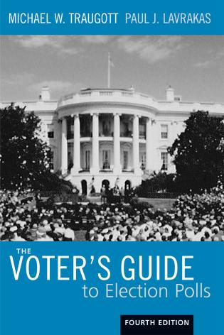 Cover image for the book The Voter's Guide to Election Polls, Fourth Edition