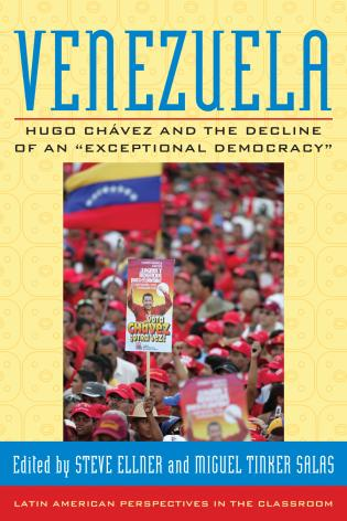 Cover image for the book Venezuela: Hugo Chavez and the Decline of an