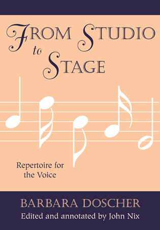 from studio to stage repertoire for the voice