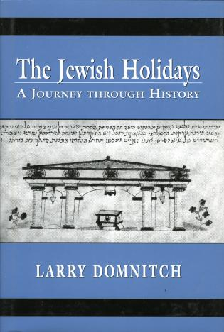 Cover image for the book The Jewish Holidays: A Journey through History