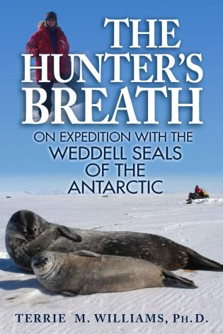 Cover image for the book The Hunter's Breath: On Expedition with the Weddell Seals of the Antartic